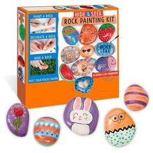 Colorful rocks  for Exercising Children's Creativity Rock Painting kit