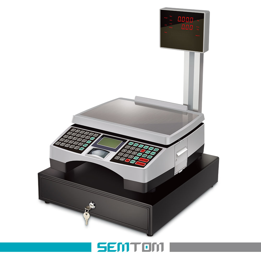 electronic scale cash register/Supermarket scale