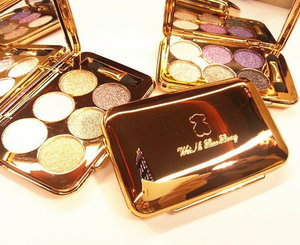 Hot sale 6 colors glitter makeup palette for cosmeticos eyeshadow
