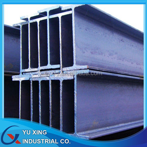 Hot rolled mild steel H section beam for construction