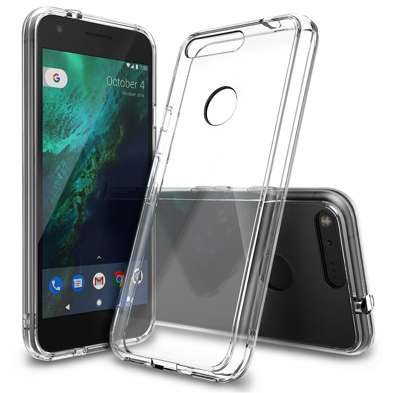 on sale 4c6c4 9f24c 100% Original Google Pixel XL Case Ringke Fusion Crystal Back Panel + TPU  Frame Dual Protection Cases for Google Pixel XL 2016