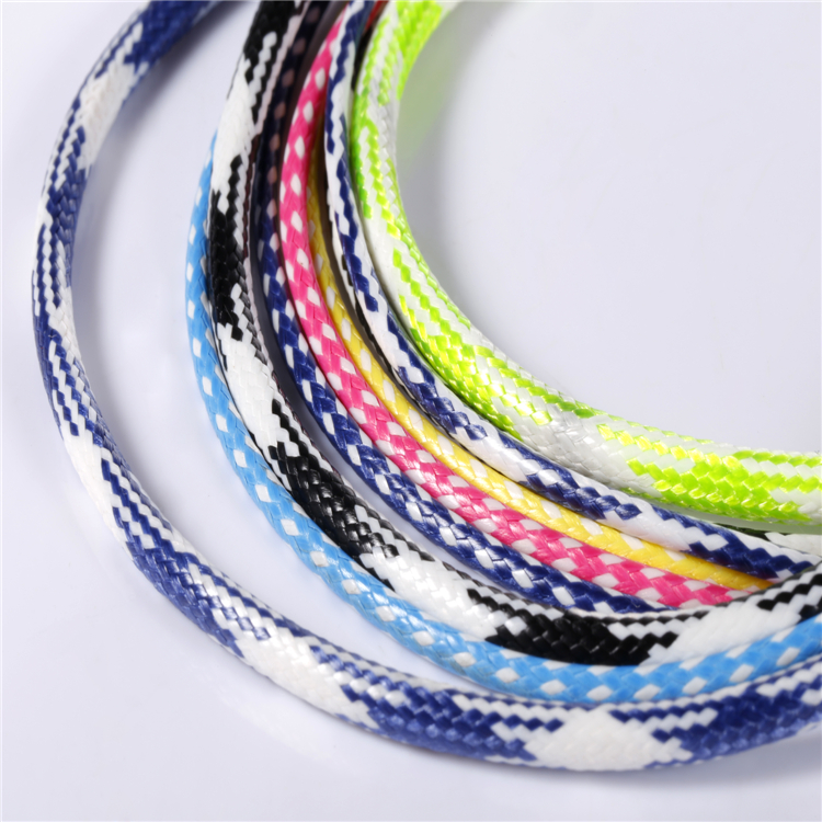 2018 Venda Quente Multicolor Braid nylon/Corda de Polipropileno Made In China