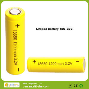 Airsoft/RC LiFePO4 3.2V 18650 battery 20C/40C