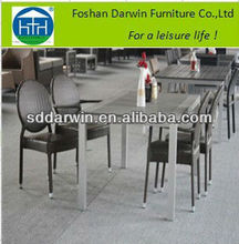 Garden furniture outdoor furniture indonesia set (DW-DT015+DW-C013 )