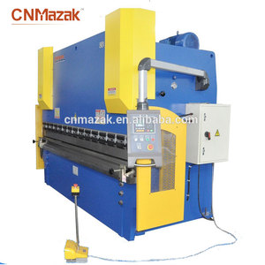 CNC Press Break 250T/3.2m 3+1 axis 3 meter sheet metal press brake WC67k-500T5000