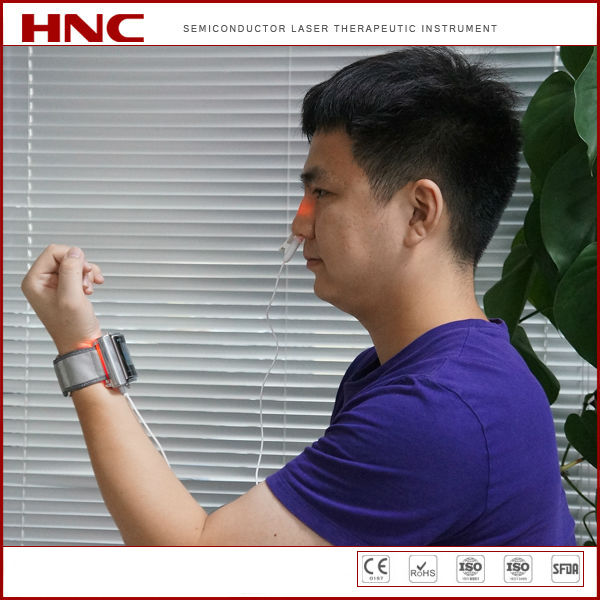 China HNC manufacturer diabetes hypertension treatment cold laser therapy instrument
