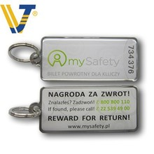promoting metal qr code key tag for wholesales