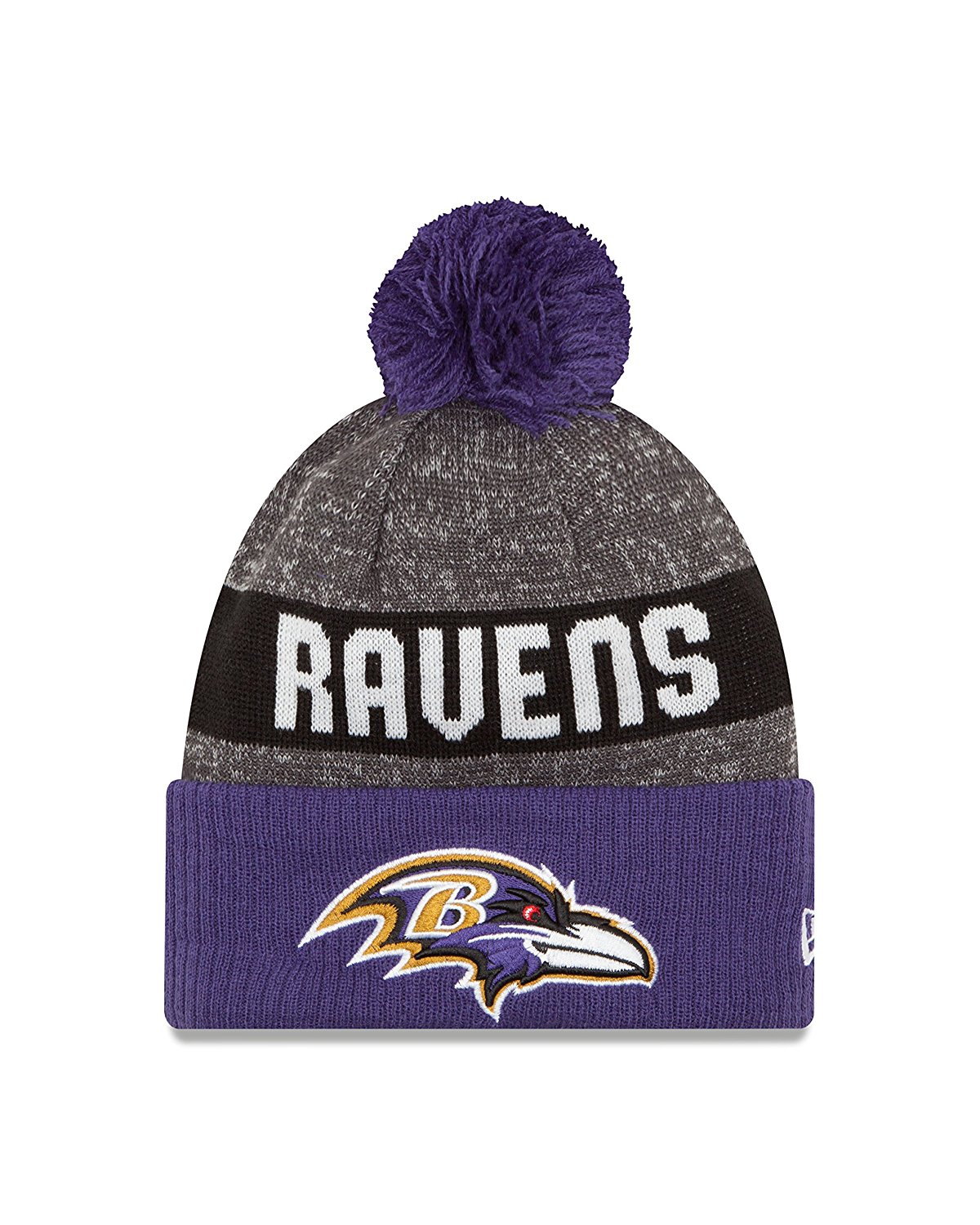 3a79361ab06 Get Quotations · NFL Baltimore Ravens 2016 Youth Reverse Team Color Sport  Knit Beanie