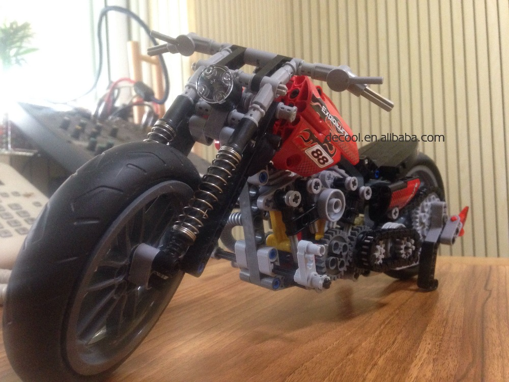 Mountain Motorcycle 2 in 1 Decool 3373 Model 2