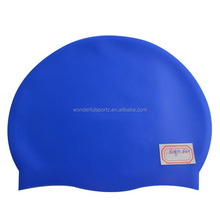 Good quality new style colorful node silicone swimming cap beautiful,colorful silicone swimming cap