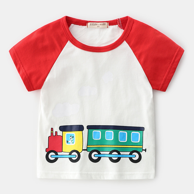 China To Uk Door To Door Shipping Service Kids Marvel Short Sleeve T-shirt With Your Logo T-shirt Co