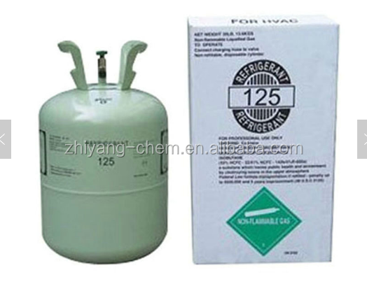 low price high purity refrigerant gas r125