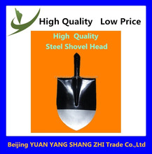 Garden tools digging steel shovel head made in china