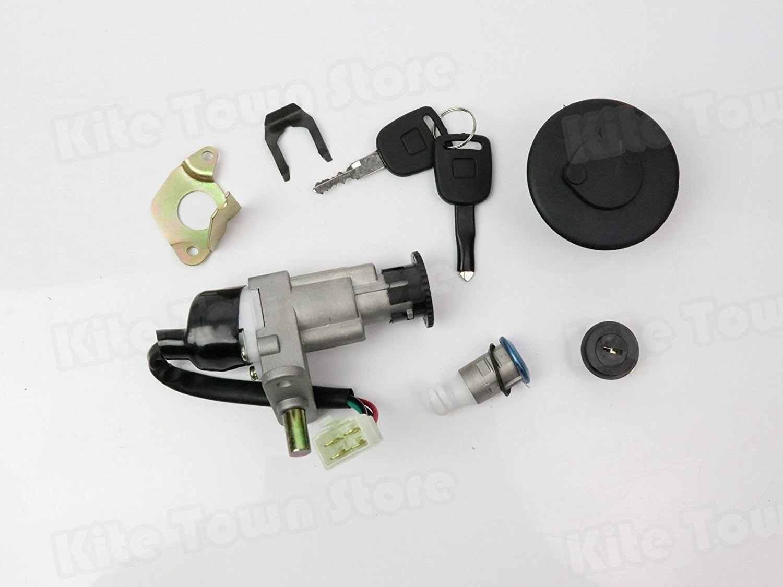 WPHMOTO Ignition Coil and NGK C7HSA Spark Plug for 125cc 150cc ATV Quad Go Kart Pit Dirt Bike