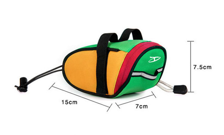Outdoor Sport Cycle Tail Carry Storage Bags OEM Riding Comfort Classic Waterproof Bicycle Saddle Bike bag