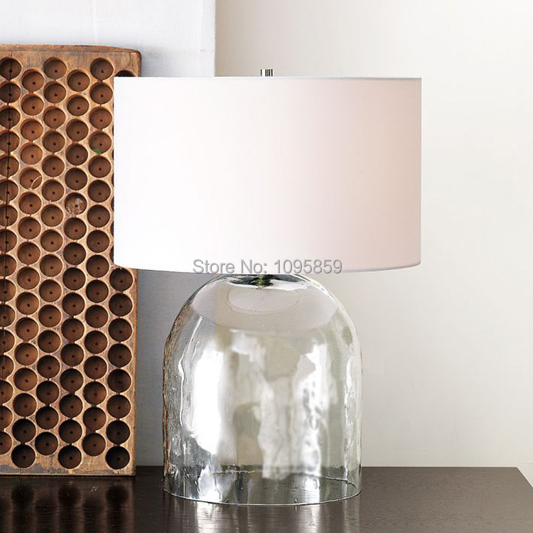 2019 D 35cm X H 54cm Glass Vase Modern Table Lamp Light Bedroom