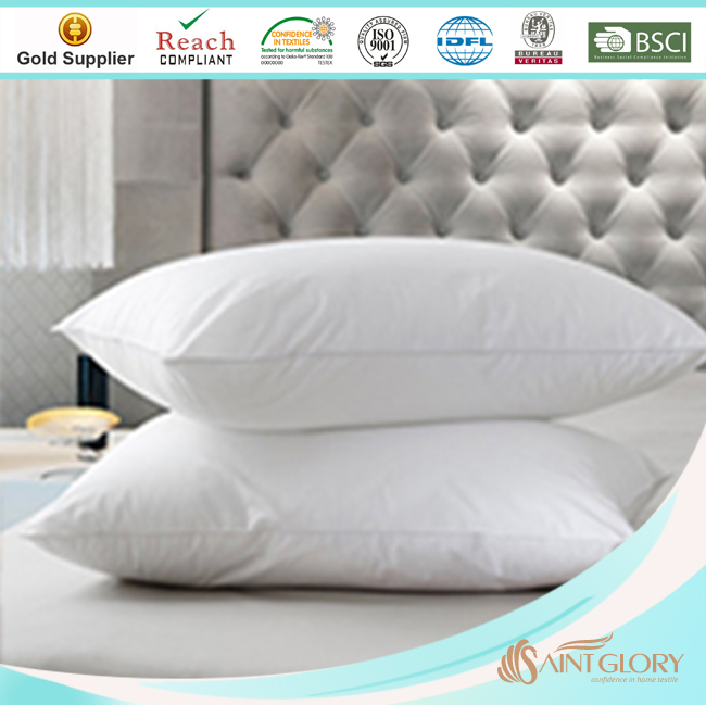 elegant no bad smell duck down and feather filling pillow insert