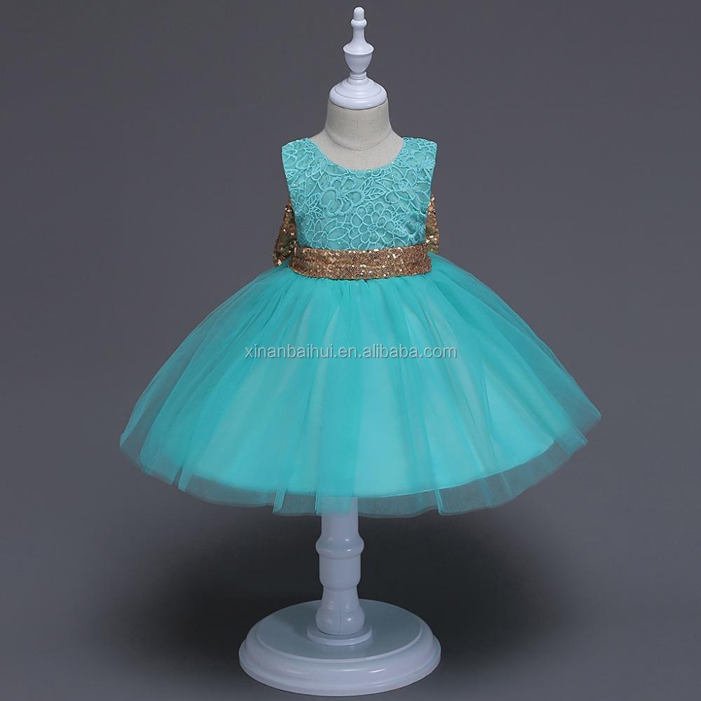 Estilo coreano vestido de la muchacha de flor niña vestido con ...
