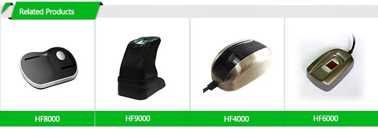 HF7000 China Top Wireless RFID Reader Fingerprint Scanner Printer For Bank Payment Transfer