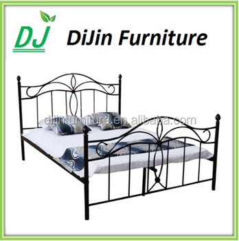 Queen size cheap king size platform bed frame on sale for Cheap double bed frames under 50