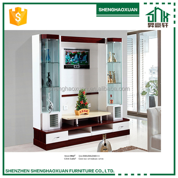 Modern Design Living Room Tv Set Furniture Decorative Wall