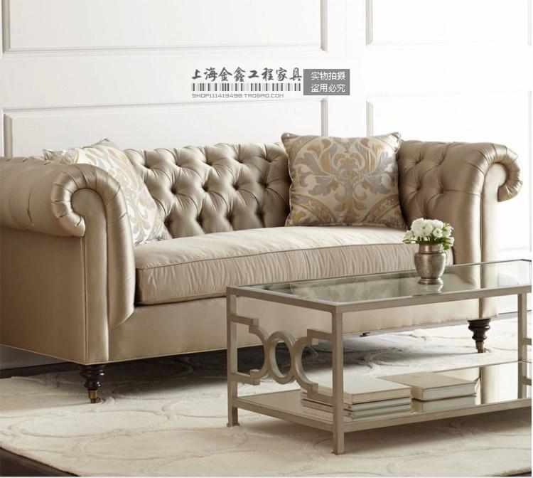 Country Living Room Furniture Couches: European Fabric Sofa Modern Sofa Set And Sofa American