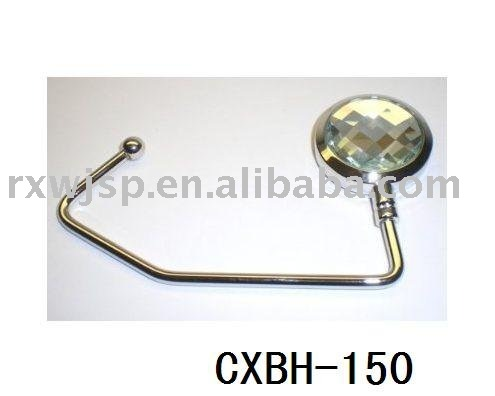 Clear Crystal Purse Hook / Handbag Hanger
