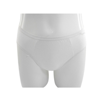 Custom Useful 100% Cotton Hospital Disposable Underwear Oem Eco-friendly Disposable Panty Supplies
