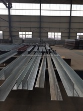 Export New design prefabricated eps sandwich wall panel steel warehouse framework