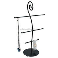 Metal Table Top Boutique Jewelry Necklace Holder