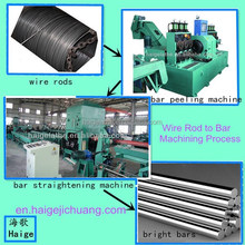 wire rod straightening and cutting machine low labor intensity