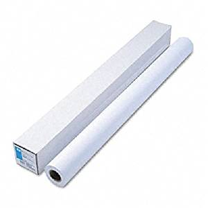 "HP : Designjet Large Format Paper for Inkjet Printers, 21lb, 42""w, 150`l, WE, Roll -:- Sold as 2 Packs of - 1 - / - Total of 2 Each"