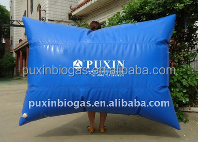 0.5m3-200m3 gas storage balloon for biogas digester