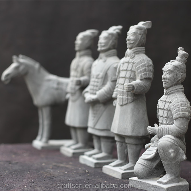 earthenware terracotta warriors souvenir model