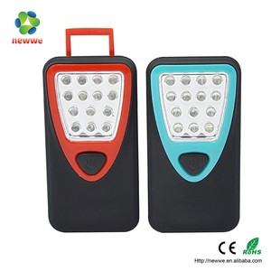 Handy Magnetic 14 led work light small portable led light