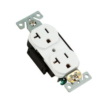 Electrical Receptacle Outlet 20 Amp Duplex Receptacle Socket Outlet ...