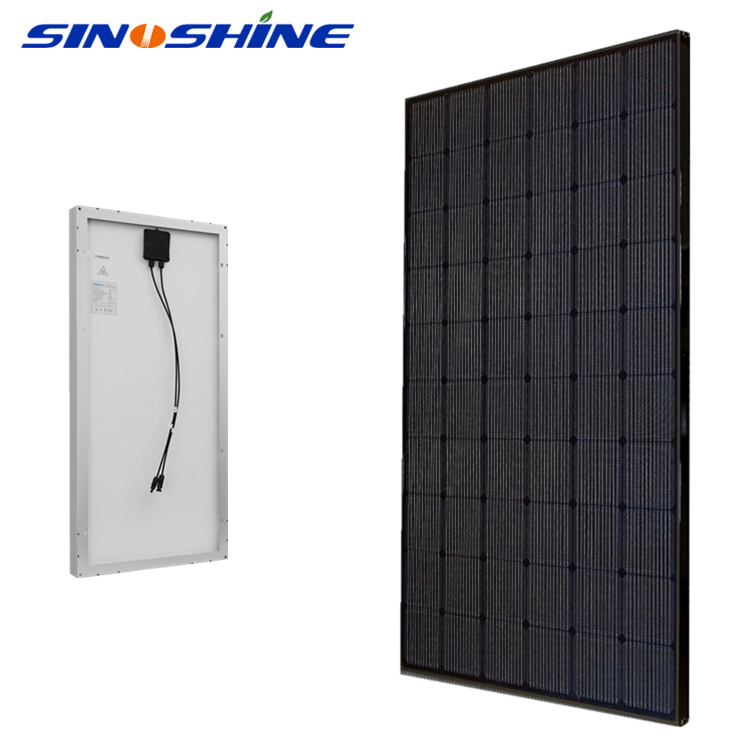 Wind pressure resistance poly solar panel 265w totally waterproof junction box