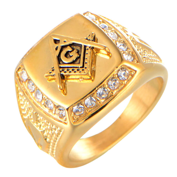 Cheap Price Factory Direct Supplier Masonic Ring Gold Plated Stainless  Steel Jewelry For Men - Buy Masonic Rings,Antique Masonic Rings,Vintage  Ring