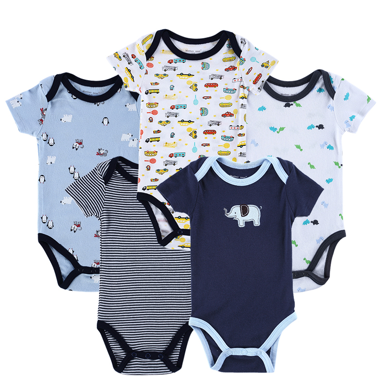 a36941cc0487 Buy New 2015 Newborn Baby Boy Spring Clothing Sets 100% Cotton 5PCS ...