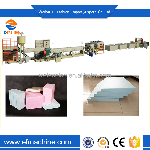 Low Price Extruded Polystyrene/Eps Cement-Mortar Composite Panel Line