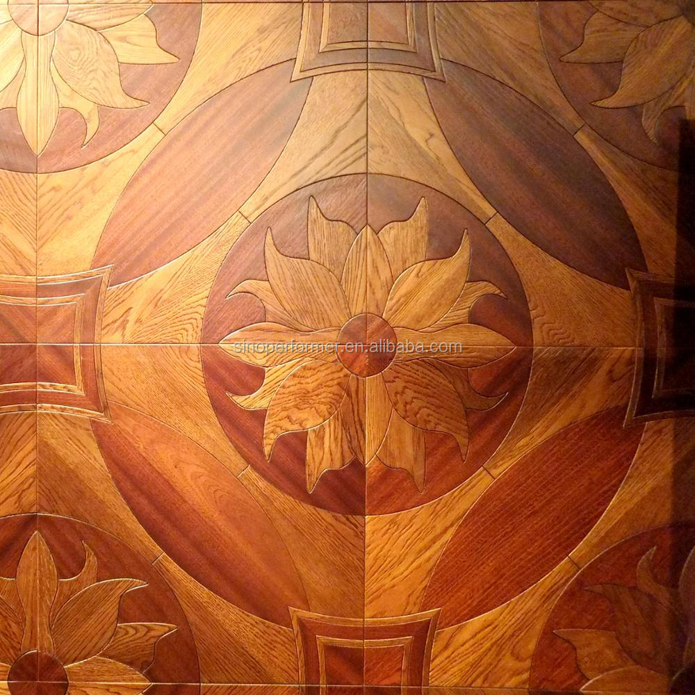 Walnut Wood Mosaic Parquet from China Manufacturer