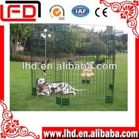 Folding metal dogs kennel