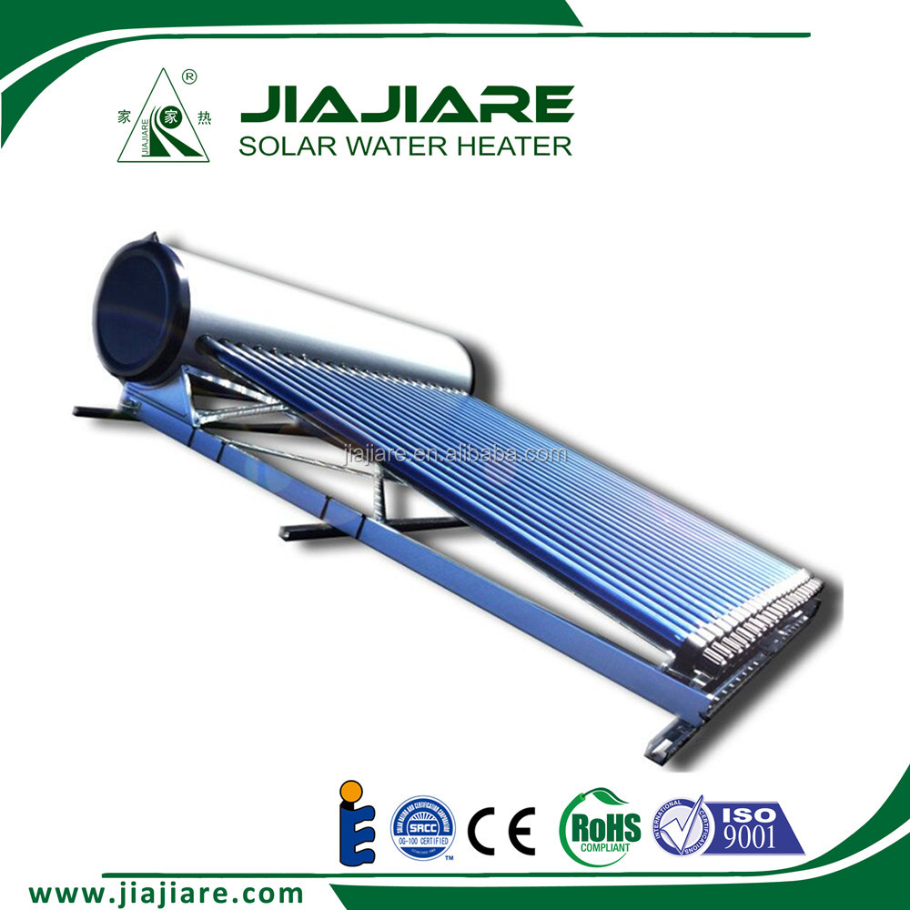 stainless steel heat pipe vacuum tube solar water heater