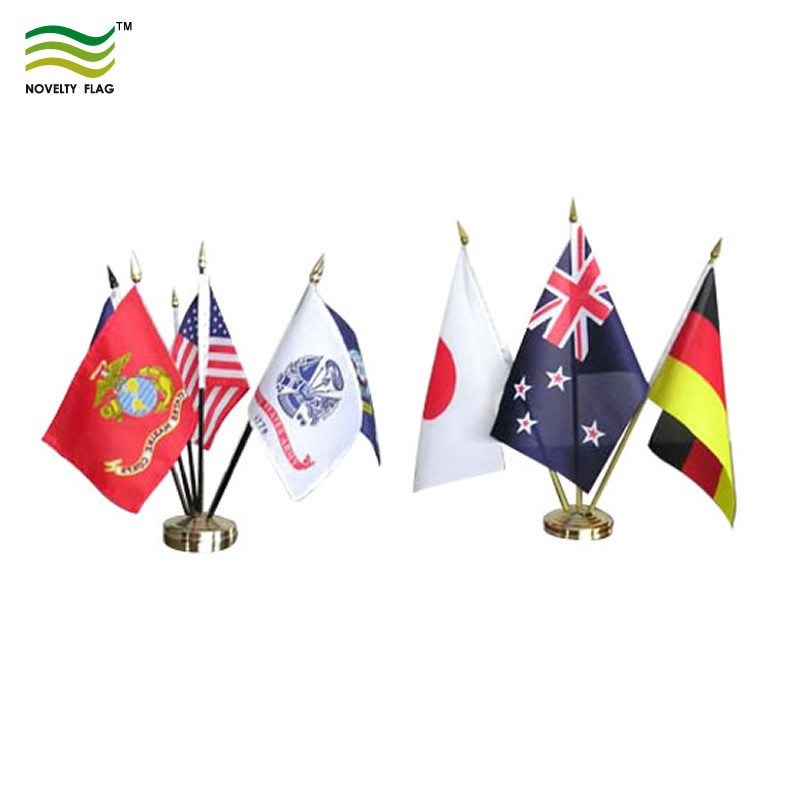 Wholesale Desk Flags Stand Table Flag Pole - Buy Table Flag Pole,Flags Set,Table Flag Stand ...