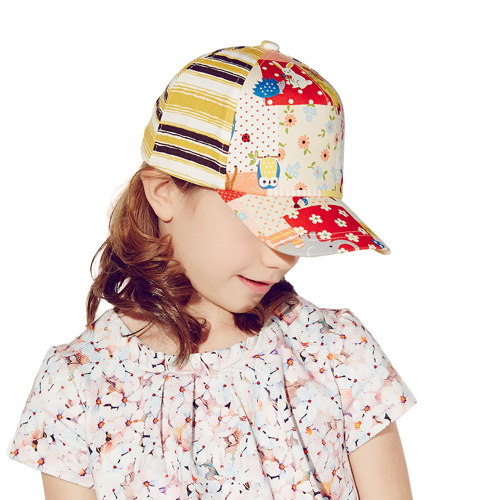 Free Shipping Cap Brand Kenmont Visors Korean Fashion Spring Summer Children's Hat Baseball Cap Cotton Outdoors 3-6Y 4890