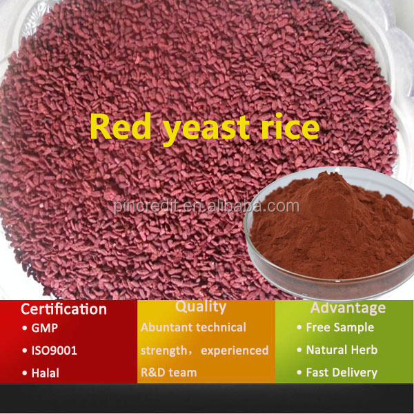 Competitive price nature made red yeast rice extract
