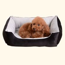 Petits animaux dogbeds étanche PV <span class=keywords><strong>polaire</strong></span> <span class=keywords><strong>chien</strong></span> lit animal de compagnie fournitures lit