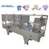 Shanghai Joygoal automatic sauce cup filling and sealing machine automatic ice cream cup filling machine