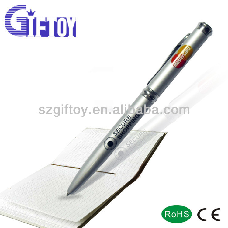 Hot Sell Multi-fuction Led Light Pen With Money Checking GT-218B