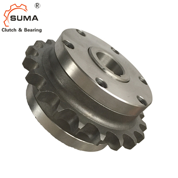 CY1-B one way roller type overrunning clutch bearing with sprocket, View  one way bearing with sprocket, SUMA or OEM Product Details from Changzhou